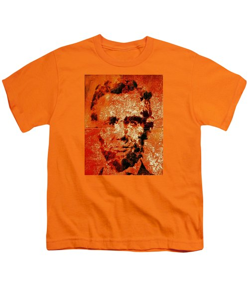 Abraham Lincoln 4d Youth T-Shirt by Brian Reaves