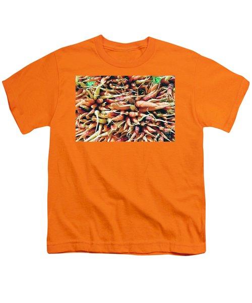Carrots Youth T-Shirt by Ian MacDonald