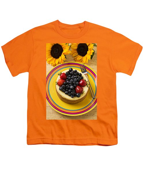 Cheesecake With Fruit Youth T-Shirt by Garry Gay