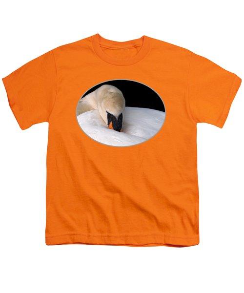 Do Not Disturb - Orange Youth T-Shirt by Gill Billington