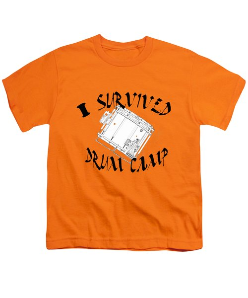 I Survived Drum Camp Youth T-Shirt by M K  Miller