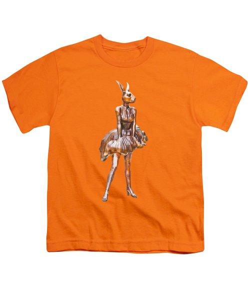 Kangaroo Marilyn Youth T-Shirt by Susan Vineyard