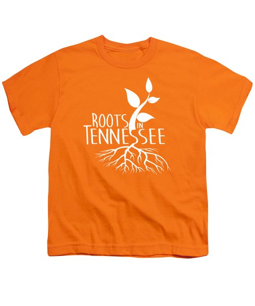 Roots In Tennessee Seedlin Youth T-Shirt by Heather Applegate