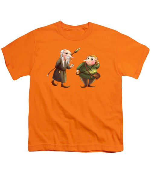Rupert And Shuman Youth T-Shirt by Reynold Jay
