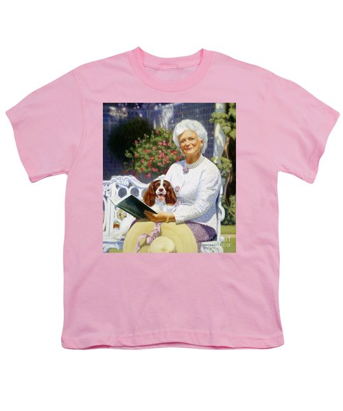 Companions In The Garden Youth T-Shirt by Candace Lovely