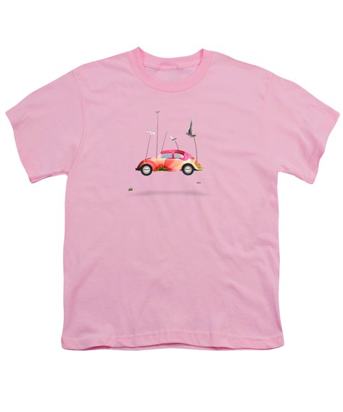 Suriale Cars  Youth T-Shirt by Mark Ashkenazi