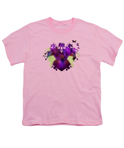 Deep Purple Youth T-Shirt by Anita Faye