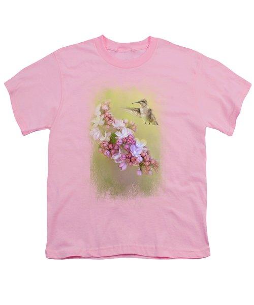 Chasing Lilacs Youth T-Shirt by Jai Johnson