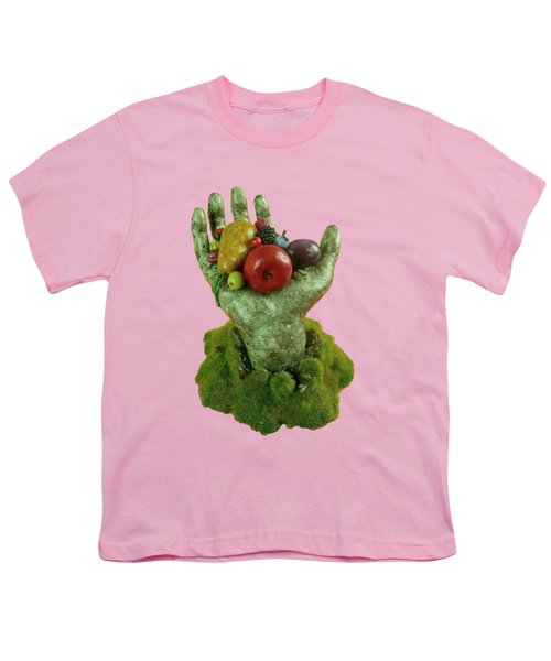 Divine Nutrition Youth T-Shirt by Przemyslaw Stanuch