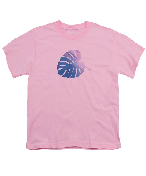 Leaf Abstract 1 Youth T-Shirt by Art Spectrum