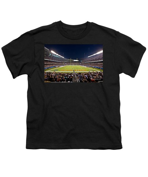 0588 Soldier Field Chicago Youth T-Shirt by Steve Sturgill