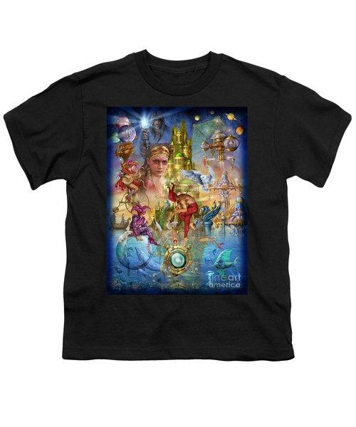 Fantasy Island Youth T-Shirt by Ciro Marchetti