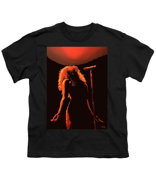 Shakira Youth T-Shirt by Paul Meijering