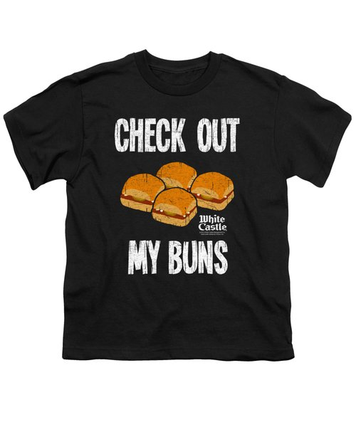 White Castle - My Buns Youth T-Shirt by Brand A