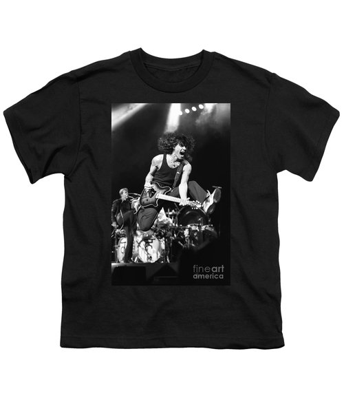 Van Halen - Eddie Van Halen Youth T-Shirt by Concert Photos