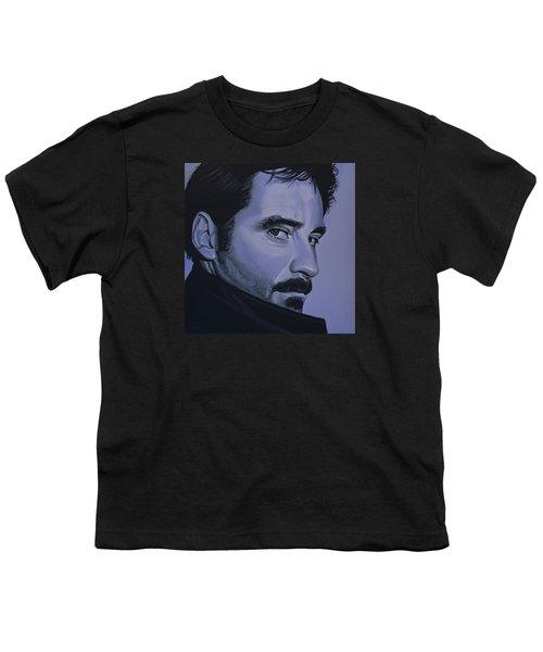 Kevin Kline Youth T-Shirt by Paul Meijering