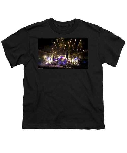 Coldplay - Sydney 2012 Youth T-Shirt by Chris Cousins