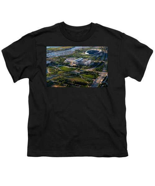 Aerial View Of The Field Museum Youth T-Shirt by Panoramic Images