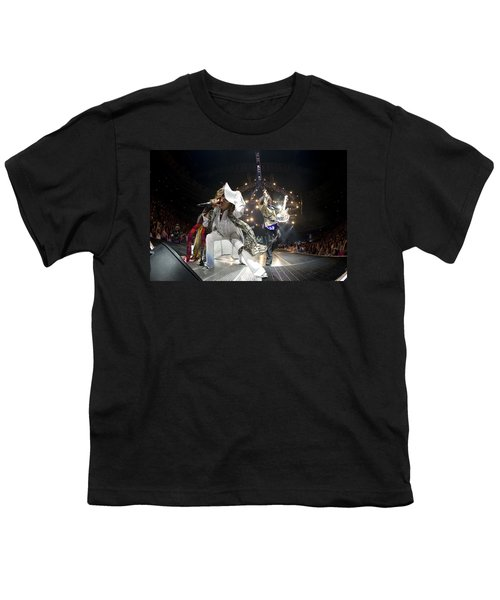 Aerosmith - On Stage 2012 Youth T-Shirt by Epic Rights