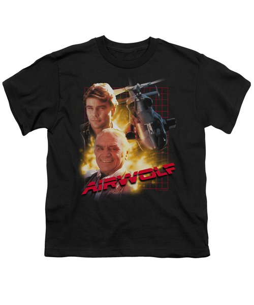 Airwolf - Airwolf Youth T-Shirt by Brand A