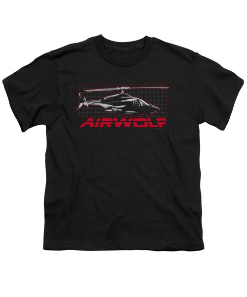Airwolf - Grid Youth T-Shirt by Brand A