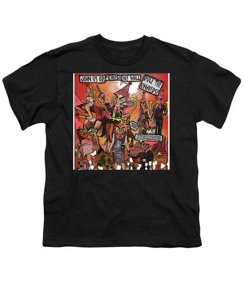 Alien Nation Youth T-Shirt by Lisa Piper Menkin Stegeman