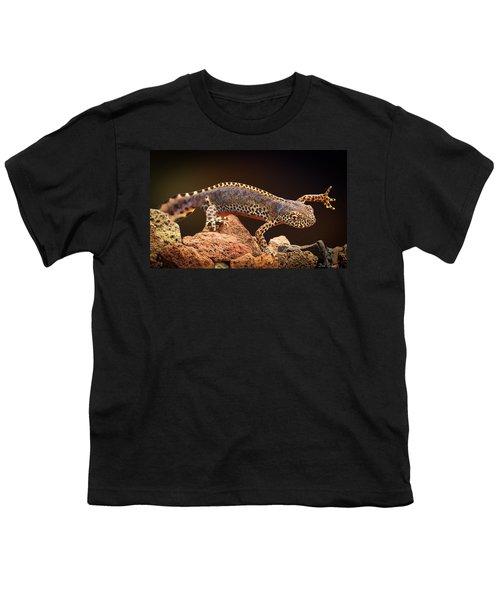 Alpine Newt Youth T-Shirt by Dirk Ercken