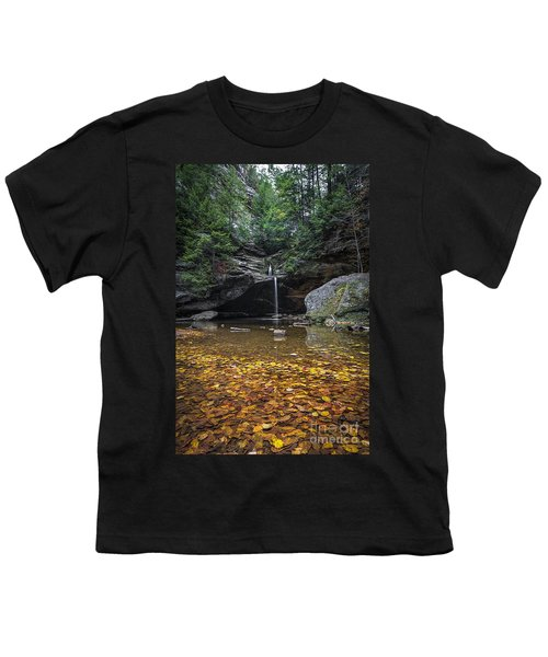 Autumn Falls Youth T-Shirt by James Dean