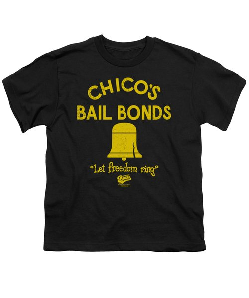Bad News Bears - Chico's Bail Bonds Youth T-Shirt by Brand A