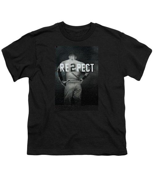 Baseball Youth T-Shirt by Jewels Blake Hamrick