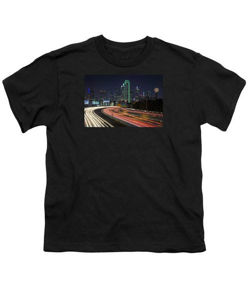 Big D Youth T-Shirt by Rick Berk
