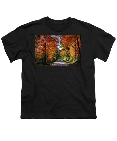 Blaze Of Glory Youth T-Shirt by Cricket Hackmann