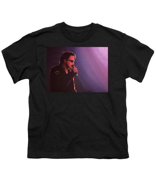 Bono U2 Youth T-Shirt by Paul Meijering
