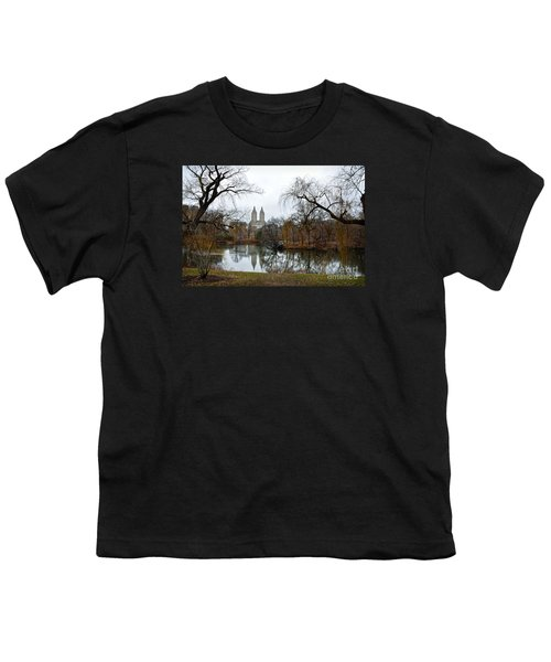 Central Park And San Remo Building In The Background Youth T-Shirt by RicardMN Photography