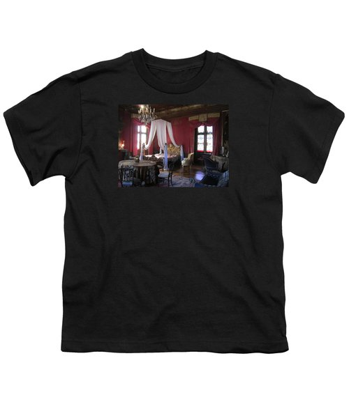Youth T-Shirt featuring the photograph Chateau De Cormatin by Travel Pics