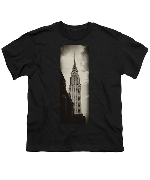 Chrysler Youth T-Shirt by Andrew Paranavitana