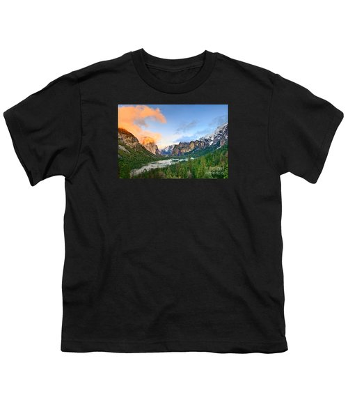 Colors Of Yosemite Youth T-Shirt by Jamie Pham