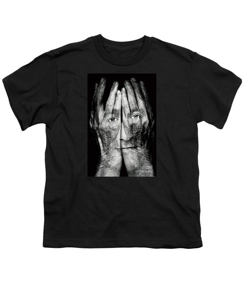 Cover Thy Faces Youth T-Shirt by Gary Keesler