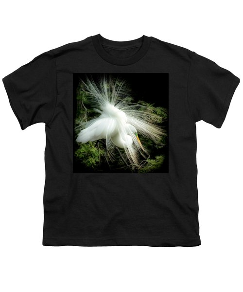 Elegance Of Creation Youth T-Shirt by Karen Wiles