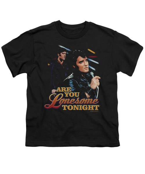 Elvis - Are You Lonesome Youth T-Shirt by Brand A