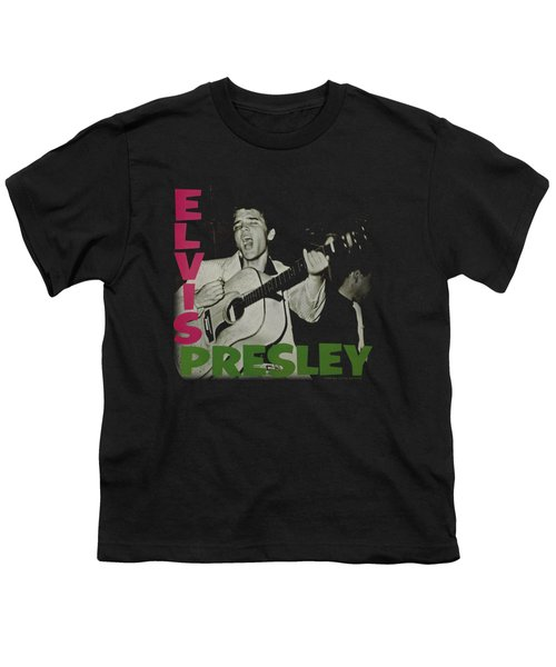 Elvis - Elvis Presley Album Youth T-Shirt by Brand A