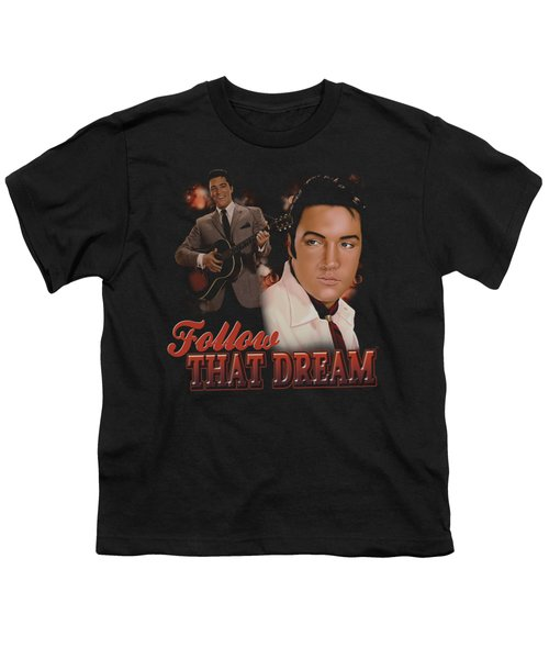 Elvis - Follow That Dream Youth T-Shirt by Brand A