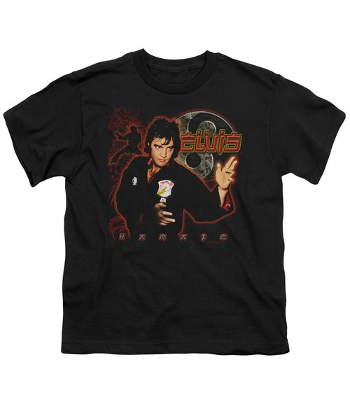Elvis - Karate Youth T-Shirt by Brand A