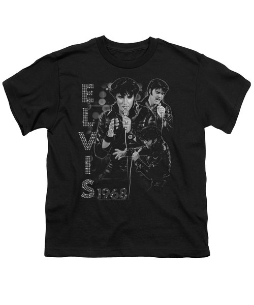 Elvis - Leathered Youth T-Shirt by Brand A