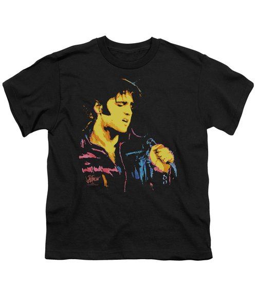 Elvis - Neon Elvis Youth T-Shirt by Brand A