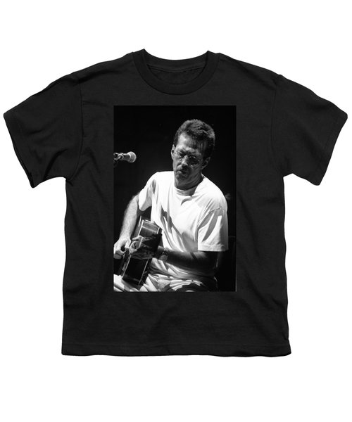 Eric Clapton 003 Youth T-Shirt by Timothy Bischoff