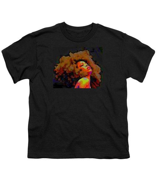 Erykah Badu Youth T-Shirt by  Fli Art
