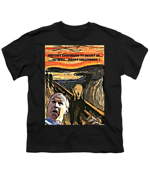 Ghosts Of The Past Youth T-Shirt by John Malone