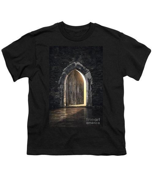 Gothic Light Youth T-Shirt by Carlos Caetano