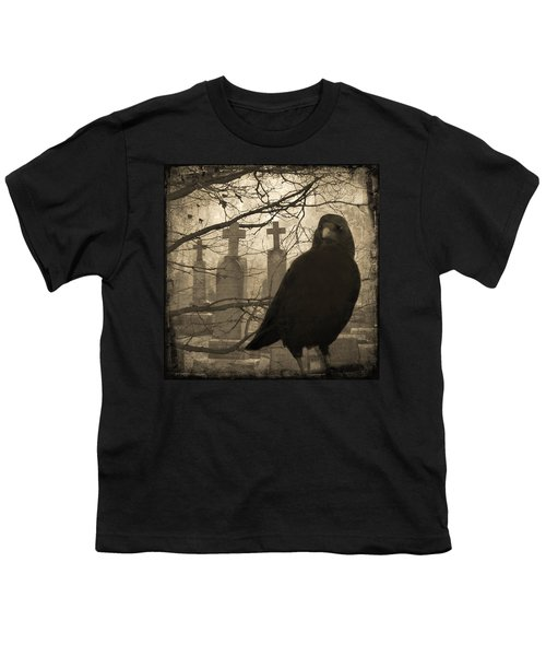 Her Graveyard Youth T-Shirt by Gothicolors Donna